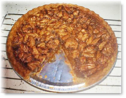 pecan pie recipe image