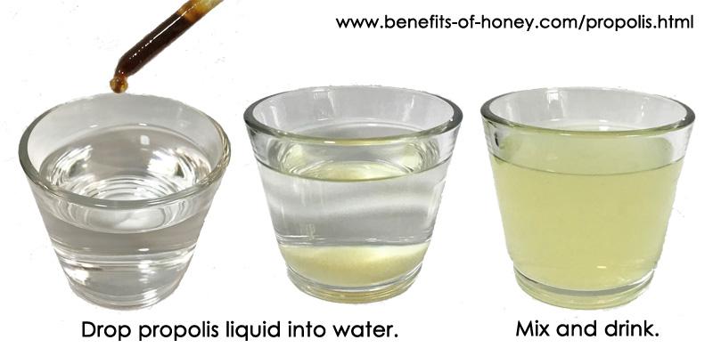 propolis water image