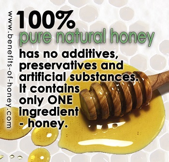 pure honey image