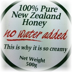 cream honey claims image