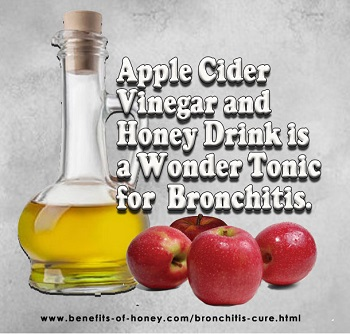 bronchitis cure with honey vinegar poster image