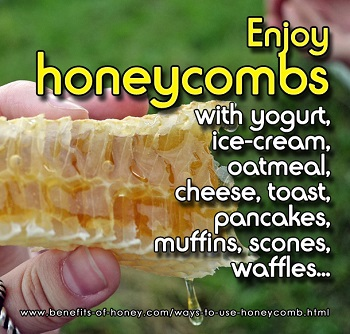 ways to use honeycomb image