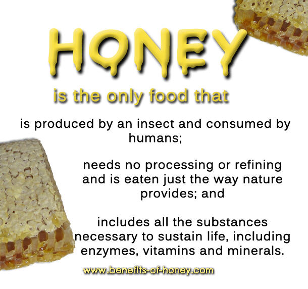 honey benefits poster image