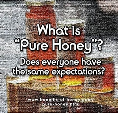 what is pure honey image