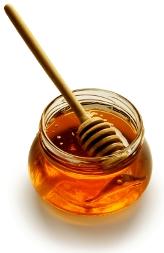 honey with stick graphic