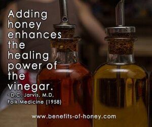 honey vinegar remedy