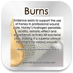 honey burn remedy