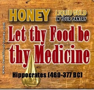 honey as medicine poster