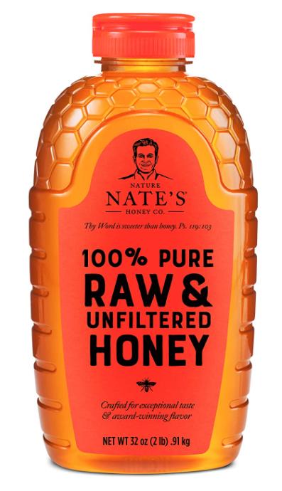 Amazon Nature Nate Raw Honey Image