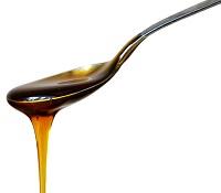 taste of honey in a teaspoon image