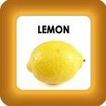 honey cure with lemon button