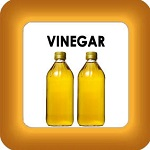 honey cure with vinegar button
